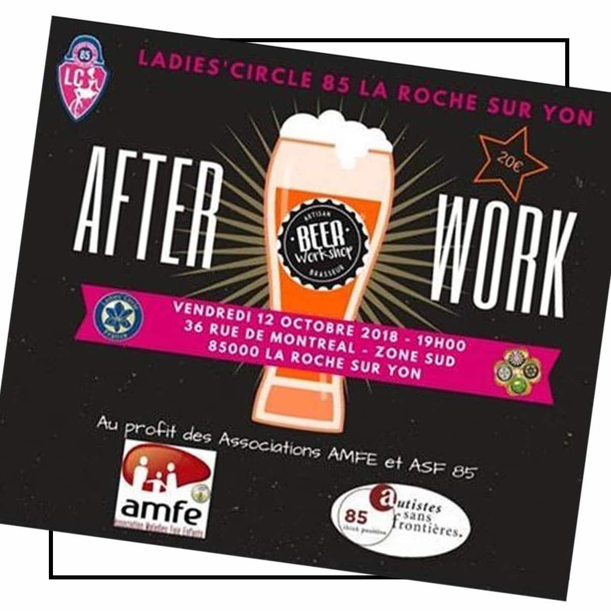 After Work Ladies'circle 85 Beerworkshop